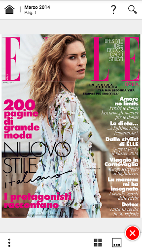 Elle Italy screenshot 4