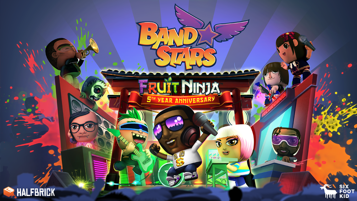 Band Stars- screenshot
