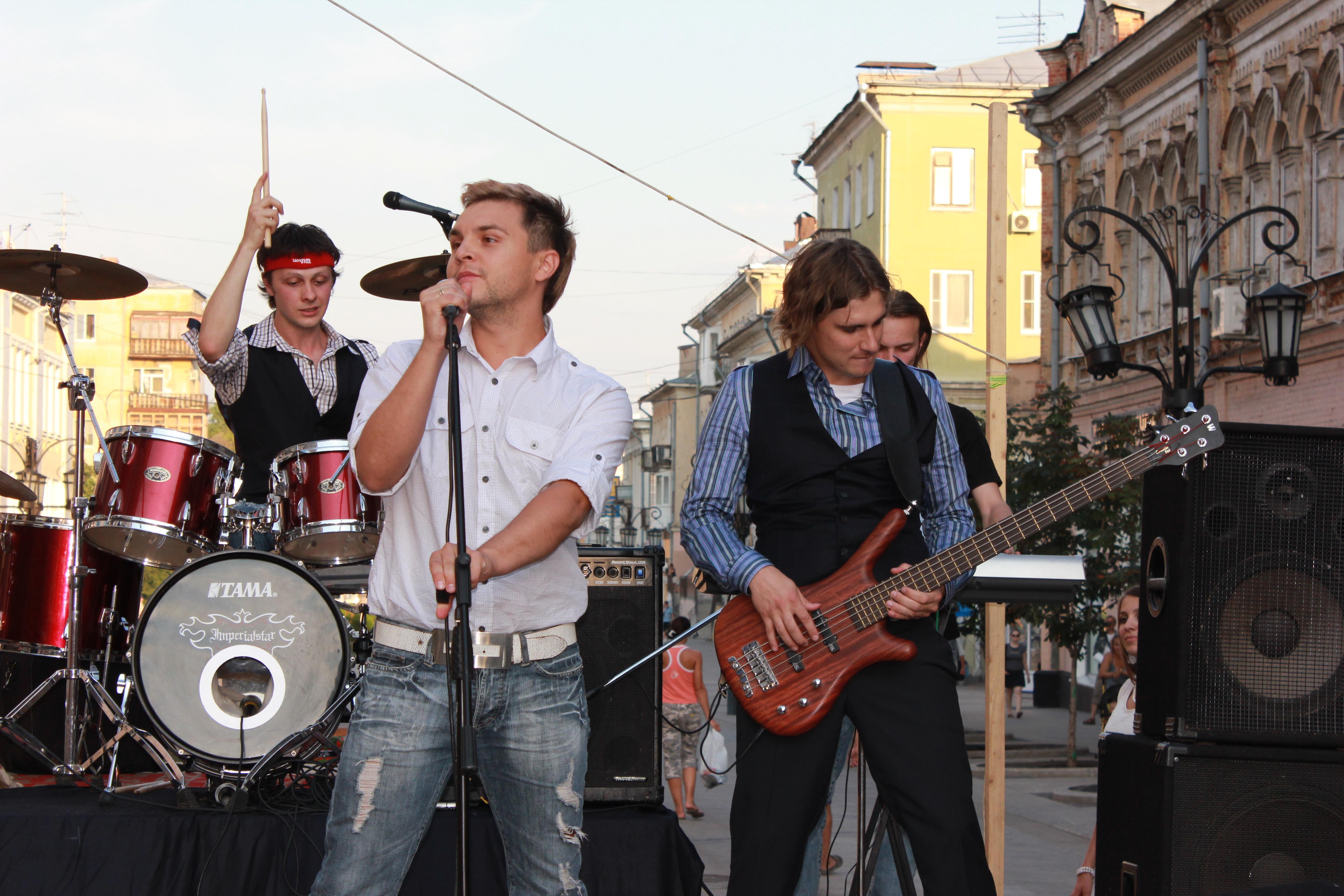 Группа ЛосАнжелес в Самаре