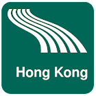 Hong Kong Map offline icon