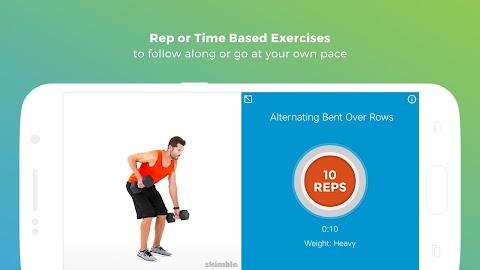Workout Trainer fitness coach Screenshot 8