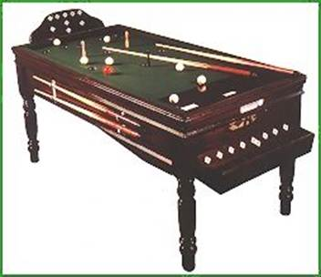 Old school Russian Pool table