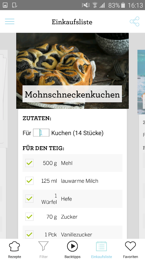 SIMPLY YUMMY – Backrezepte- screenshot