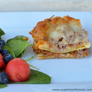 Extra Summer Veggie Lasagna
