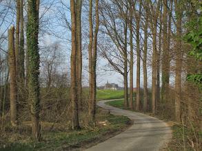 Photo: Doorkijkje naar Vertrijk vanaf het Kolemveld
