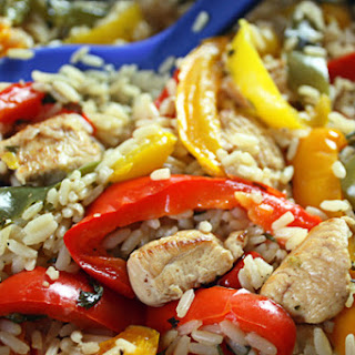 Chicken & Peppers.