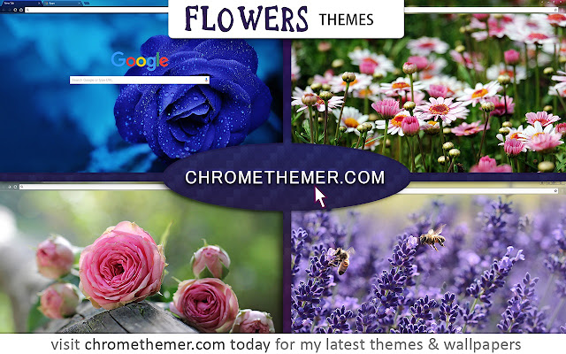 flowers chrome web store