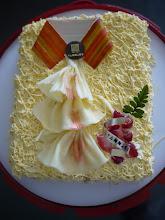 Photo: 生日蛋糕...跟父親節太近..都是父親節造型蛋糕~~