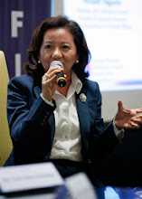 Photo: 22 August 2013 - General Monthly Meeting of FINEX. Benedicta Du-Baladad, Managing Partner of Du-Baladad and Associates and FINEX representative to the IAFEI International Tax Committee.