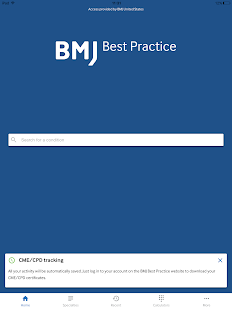 BMJ Best Practice- screenshot thumbnail