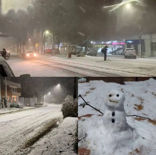 PHOTOS: Many Seeing Snow for the First Time as it Dumps on Southern Brazil