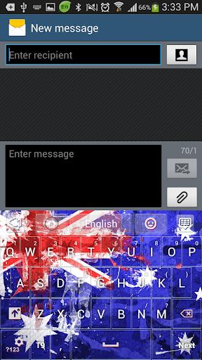 玩免費個人化APP 下載オーストラリアのGOキーボードのテーマ app不用錢 硬是要APP