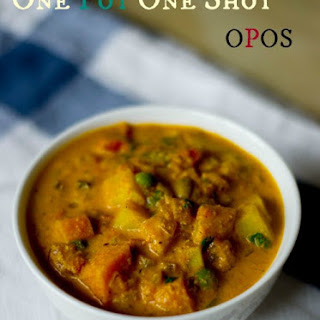 10 minute Veg Kurma - OPOS Method