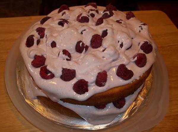Raspberry Layered Cake Recipe
