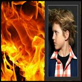 Fire Effect Photo Frames
