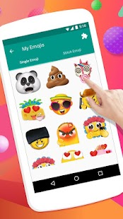 Emoji Maker Personal AR Emojis Animoji for Phone X Screenshot