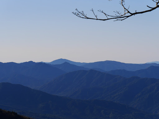 笠置山・寒陽気山など