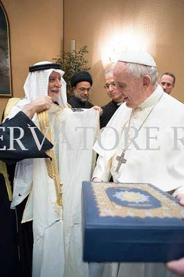 Σε Σεΐχη αναβαθμίστηκε ο Πάπας Φραγκίσκος - Εικόνα2