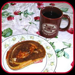 Ham Spread Sandwiches.