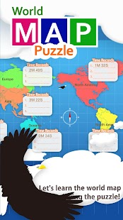 World map puzzle android apps on google play world map puzzle screenshot thumbnail gumiabroncs Image collections