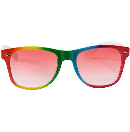 Glasögon, regnbåge