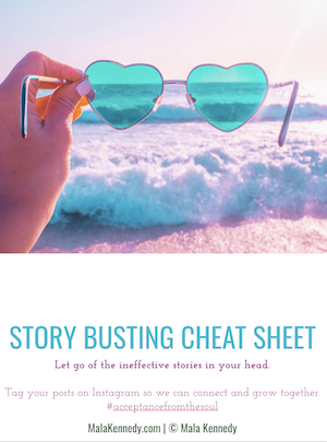 Story Busting Cheat Sheet