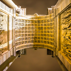Below Piazza Sempione vista dalla Torre Branca by Charles Ong - Buildings & Architecture Architectural Detail