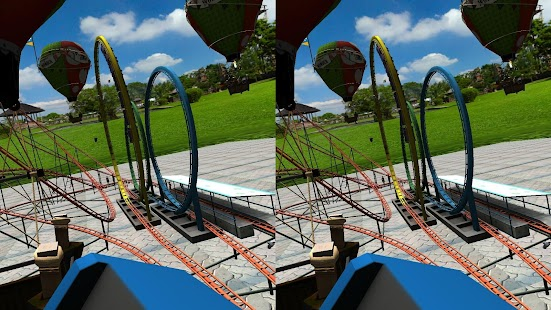 VR Crazy Rollercoaster- screenshot thumbnail