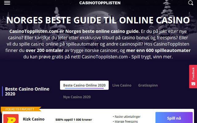 CasinoTopplisten.com