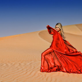 Red in the Desert by Flariden dela Torre - People Fashion