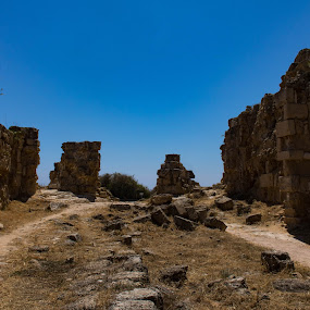 Ruins by Meeta Thakur - Landscapes Travel ( travel photography, salamis, history, cyprus, landscape )