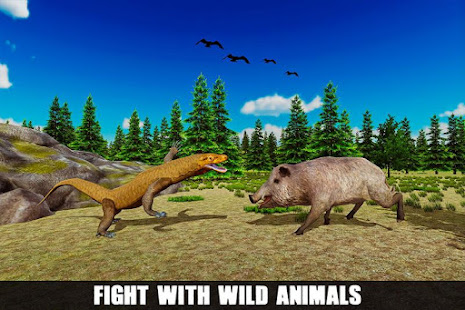 Angry Komodo Dragon: Epic RPG Survival Game 4