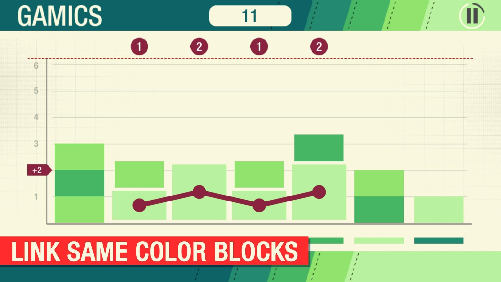 Gamics Rush Puzzle Arcade Game- screenshot