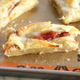 Strawberry Cream Cheese Pastry.