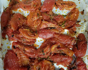 Oven Roasted Roma Tomatoes