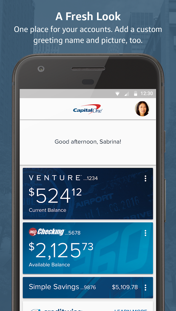 Capital One® Mobile Android 6
