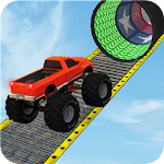 Monster Truck Stunt Race : Impossible Track Games Icon