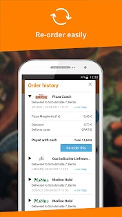 Android/PC/Windows用Lieferando.de - Order Food アプリ (apk)無料ダウンロード screenshot