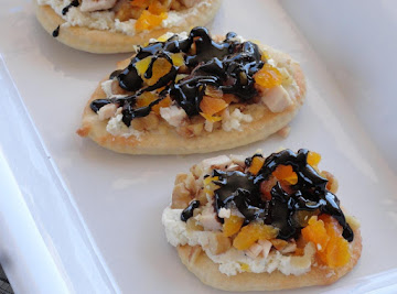 Simply Divine! Open-faced Grilled Chicken & Apricot Sammies Recipe