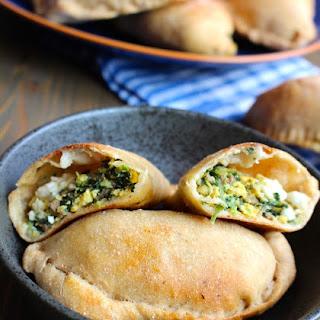 Sausage, Egg, & Spinach Breakfast Calzones