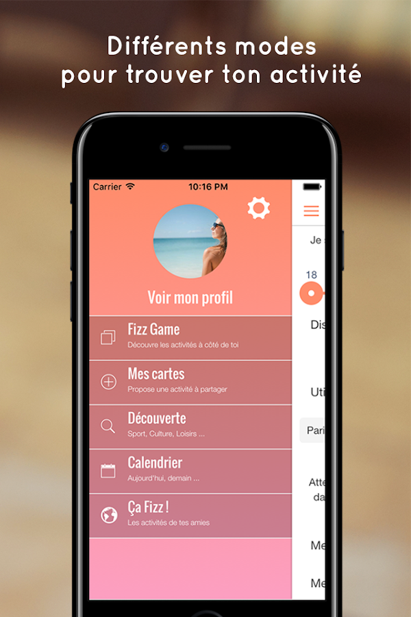SoFizz - Social Networking- screenshot