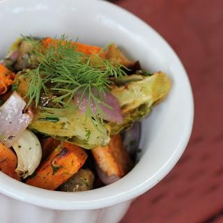 Roasted Vegetable Salad.
