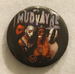 Mudwayne - Band Pic - Badge