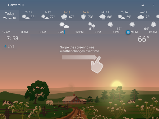 Awesome Weather - YoWindow screenshot 15