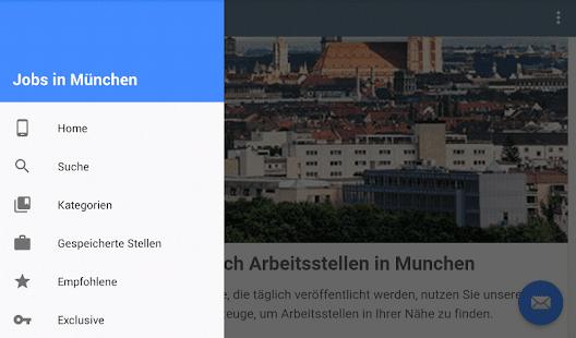 jobs in m nchen deutschland apps on google play. Black Bedroom Furniture Sets. Home Design Ideas