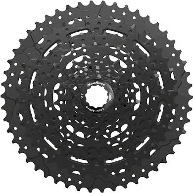 Sun Race M993 Cassette - 9 Speed, 11-50t, ED Black, Alloy Spider and Lockring