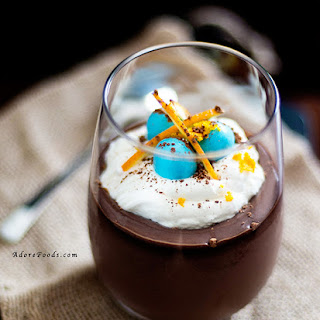 Easter Chocolate Pots