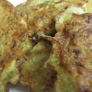 Zucchini Fritter (latkes)