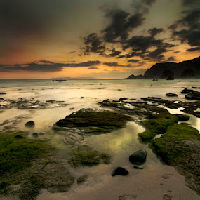 papuma on twilight by Arief Siswandhono - Landscapes Waterscapes