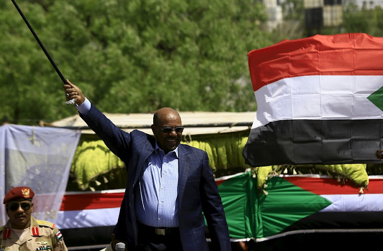 ALLOWED TO LEAVE: Sudanese President Omar al-Bashir during a Darfur peace campaign rally in April 2016. Picture:REUTERS